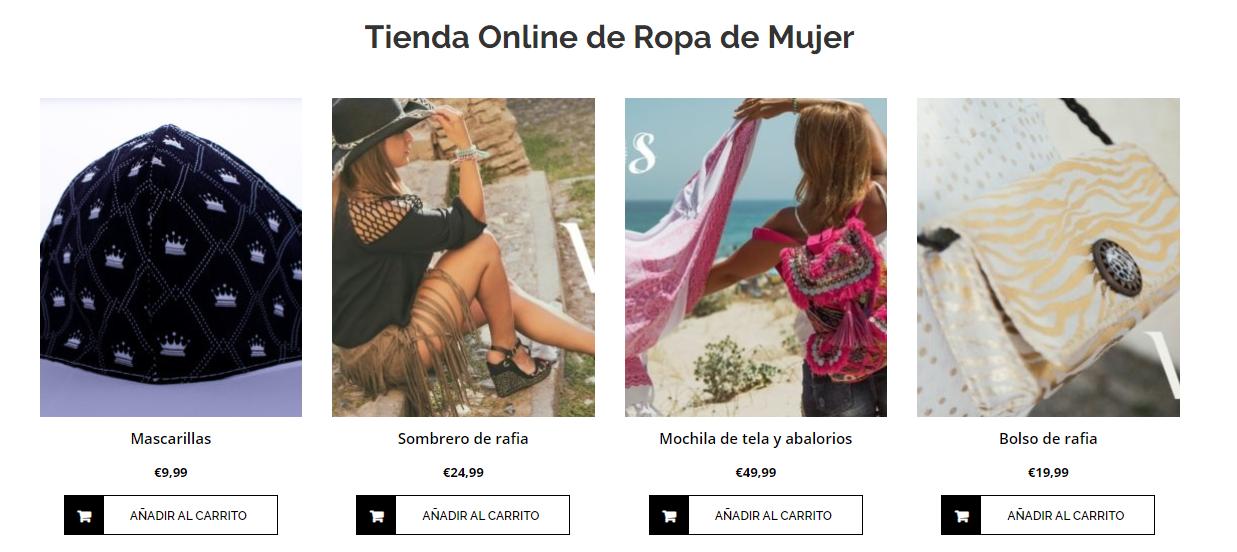Tiendas online de mujer